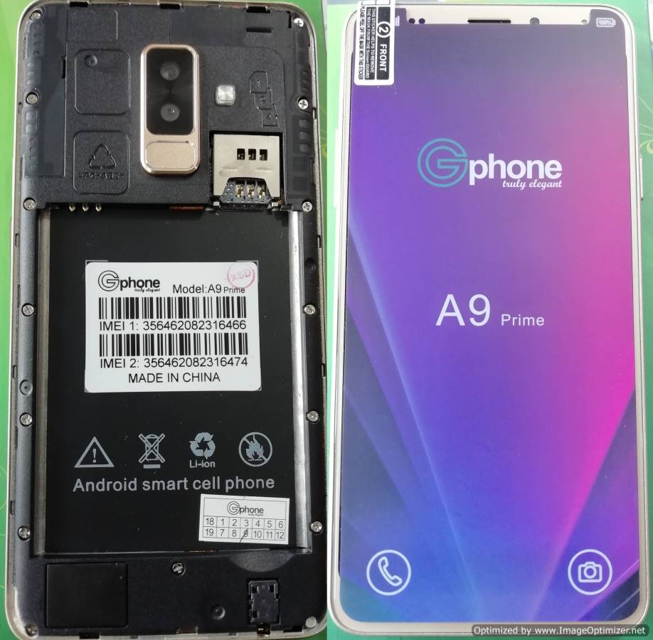 Gphone A9+ Flash File | 7 0 Noughat Firmware MT6580 Tested