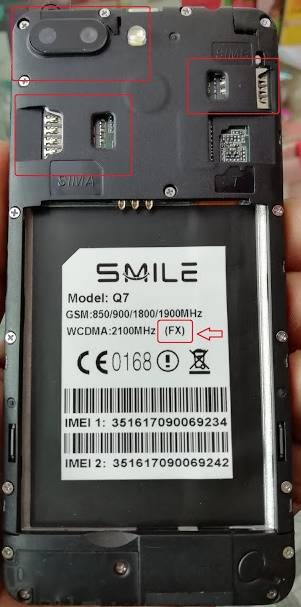 Smile Q7 (FX) Flash File | MT6580 5 1 Tested Firmware