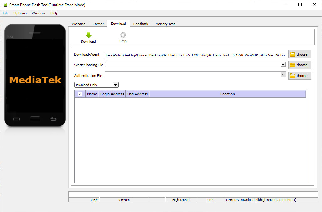 Sp Flash Tool (All Version) Free Download For Flasing Stock Rom