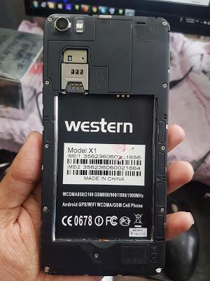 Western Jara X1 Flash File