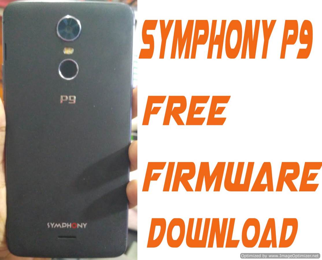 Symphony P9 Stock Firmware