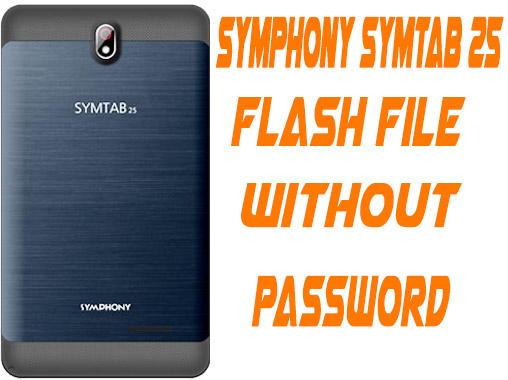 Symphony Symtab 25 Firmware Without Password