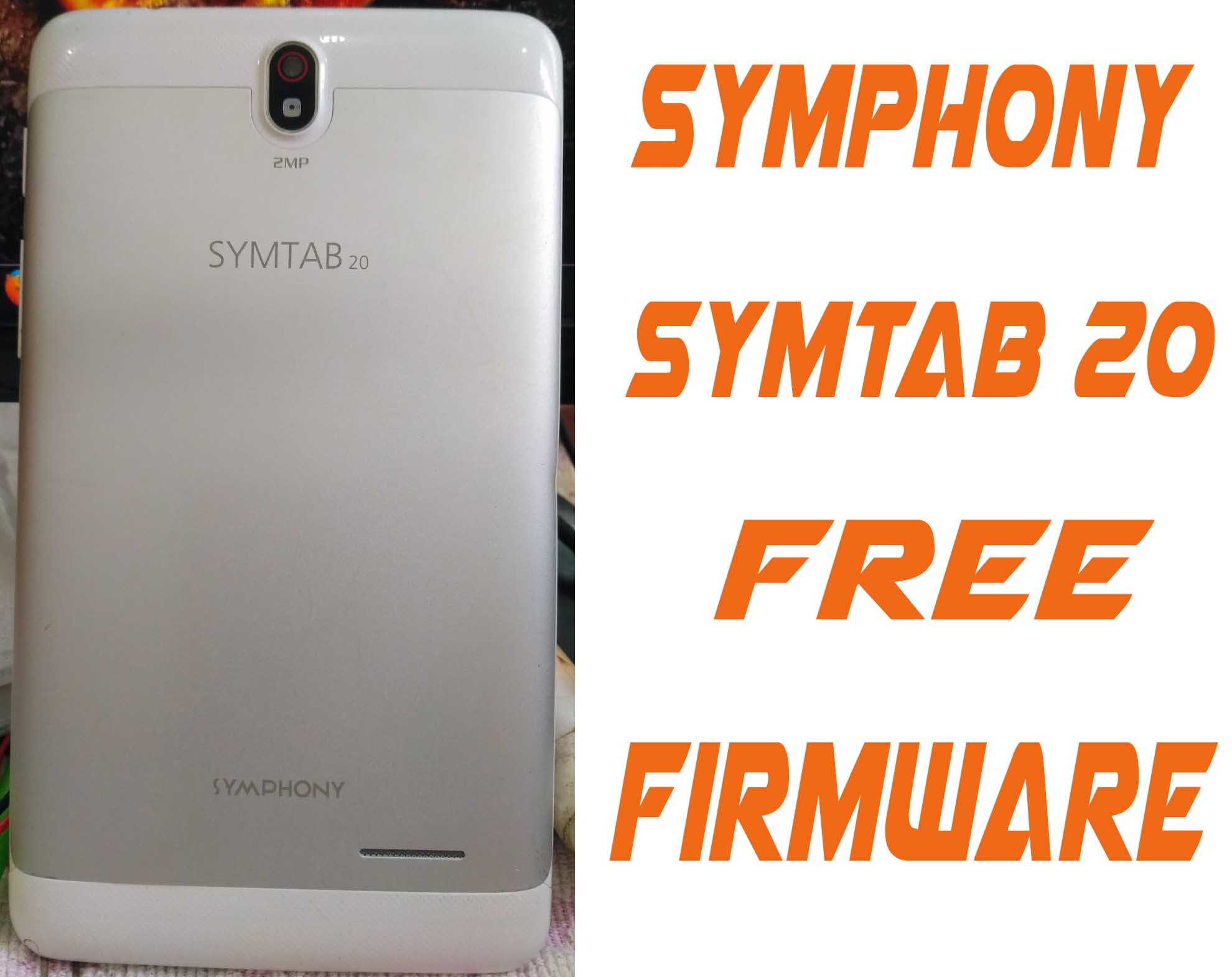 Symphony Symtab20 Stock Firmware