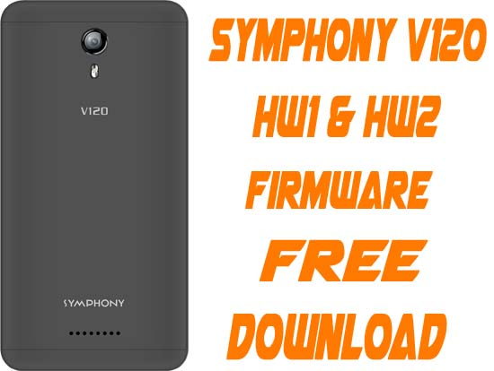 Symphony V120 Flash File