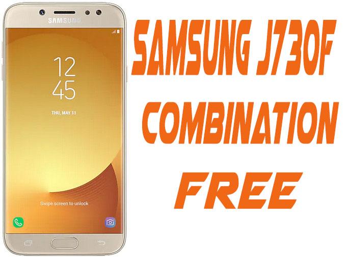 Samsung J730F U4 Combination
