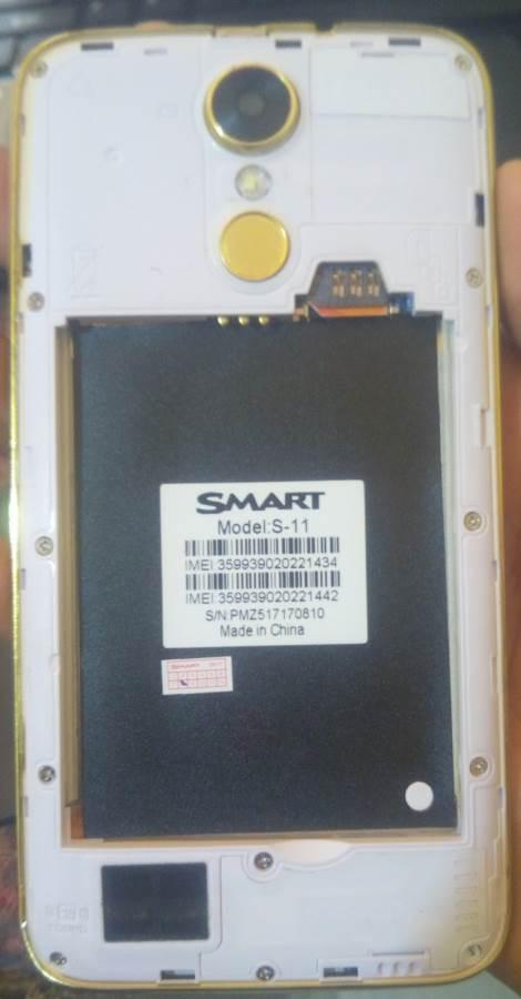 Smart S11 Flash File Without Password MT6580   FixFirmwareX