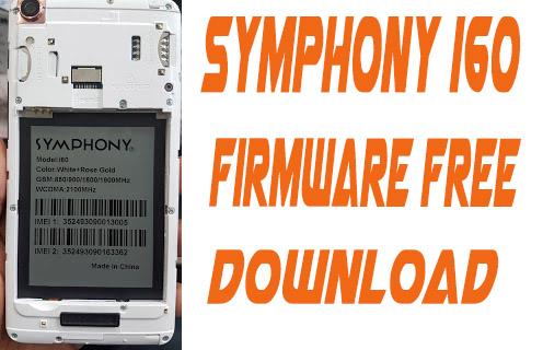 Symphony i60 flash File Without Password