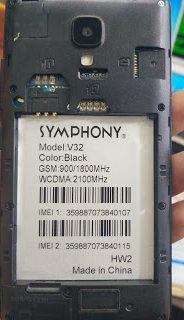 Symphony V32 Hw2 Flash File Without Password