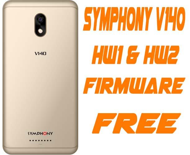 Symphony V140 Flash File Without Password (HW1 HW2