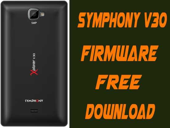 Symphony V30 Firmware