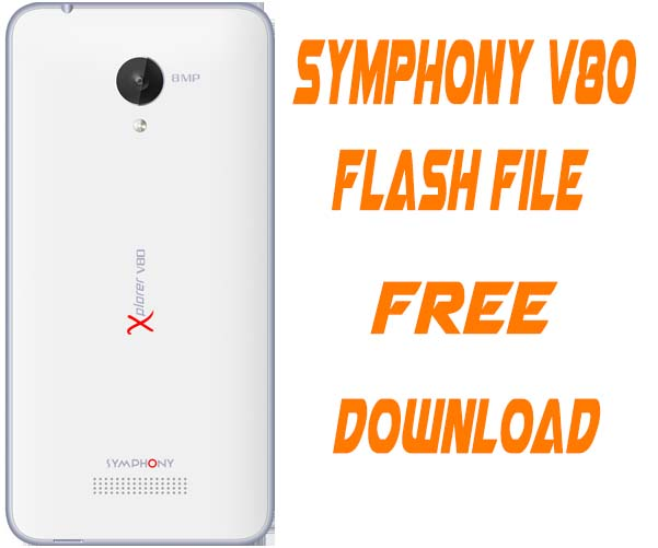 Symphony V80 Stock Firmware