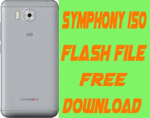 Symphony i50 Flash File Without Password