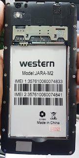 Western Jara-M2 Flash File Without Password