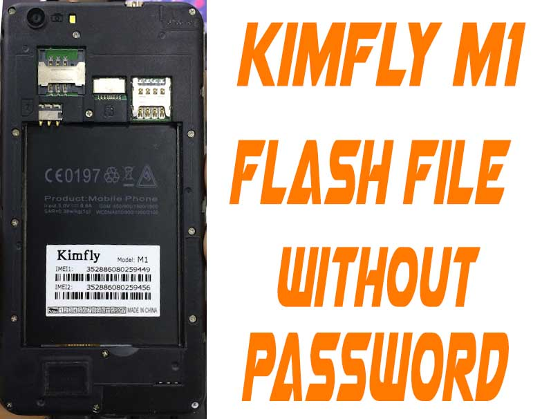 Oppo Clone Kimfly M1 Flash File Without Password | FixFirmwareX