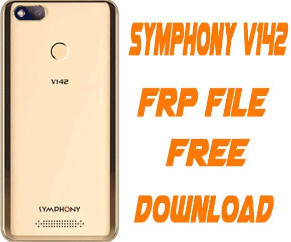 Symphony V142 Frp Reset File Without Password