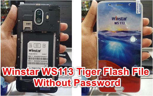 Winstar WS113 Tiger Flash File Without Password