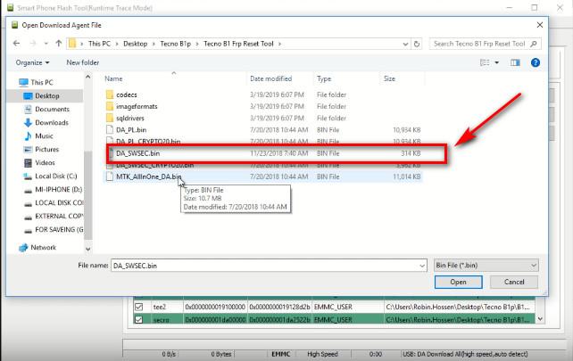 Tecno B1P Firmware All Version Free Care File Working Tool