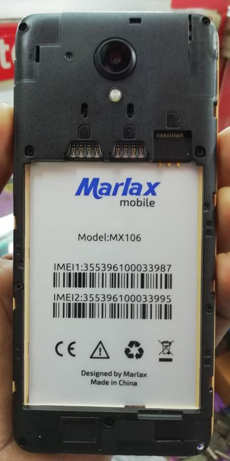 Marlax Mx106 Flash File 6.0 Tested Firmware