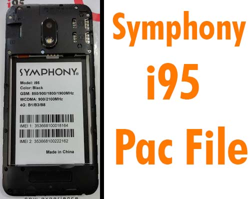 Symphony i95 SPD Flash File Firmware Pac Tested ROM