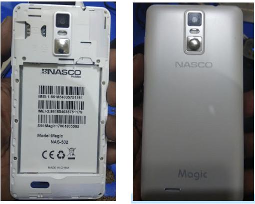 Nasco Magic Nas-502 Flash File MT6580 Rom