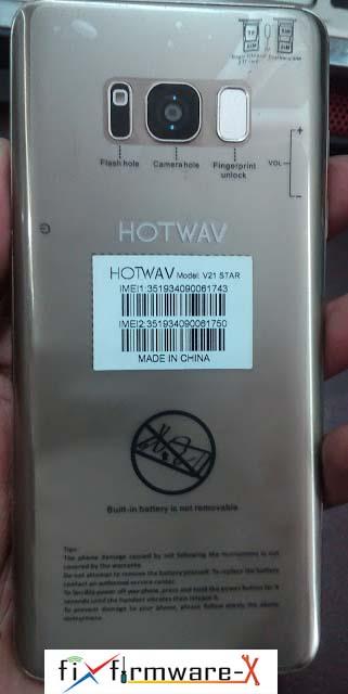 Hotwav V21 Star Flash File MT6580 7.0 Firmware Rom