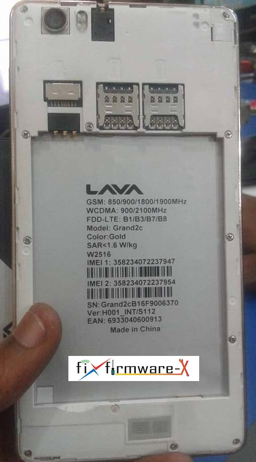 Lava Grand 2C Flash File Without Password