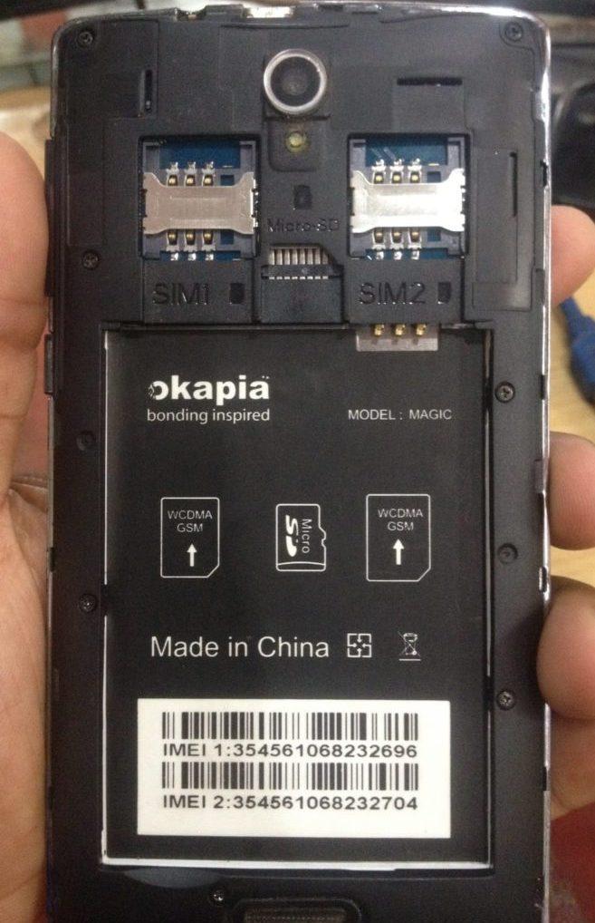 Okapia Magic Flash File Without Password