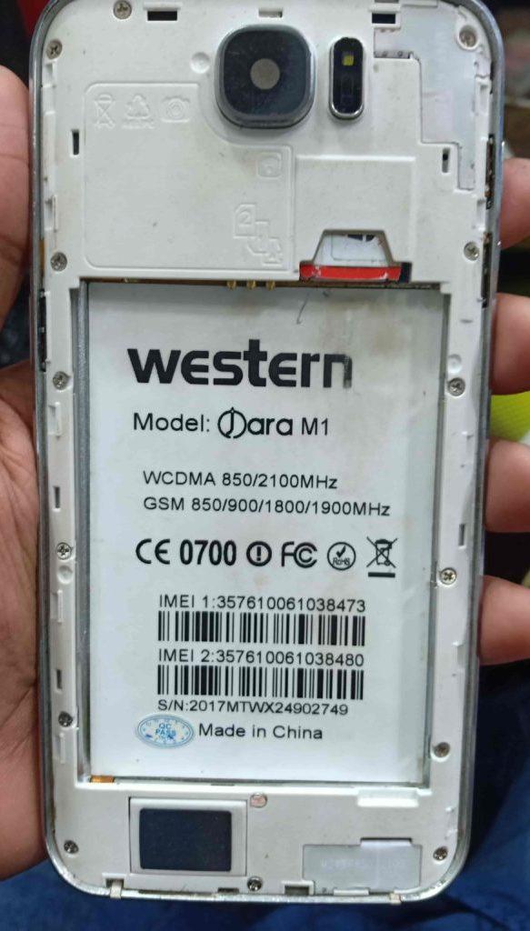 Western Jara M1 Flash File Without Password