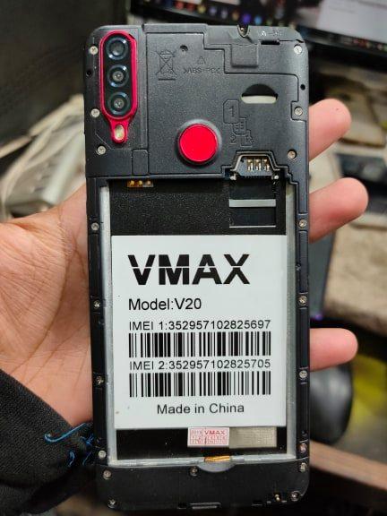 Vmax V20 Flash File 8.1 MT6580 Firmware Download