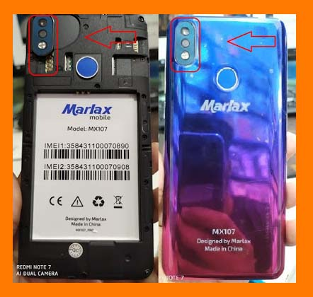 Marlax MX107 2nd Version MT6580 5.1 Tested Flash File