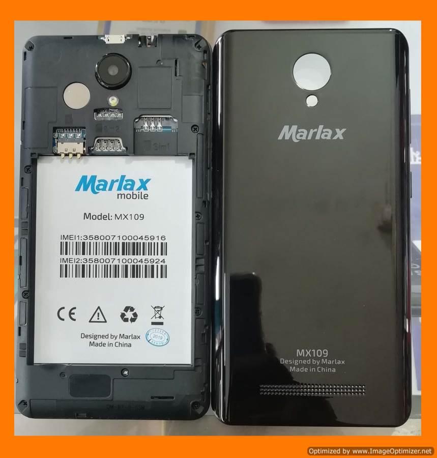 Marlax MX109 Flash File MT6580 6.0 Rom