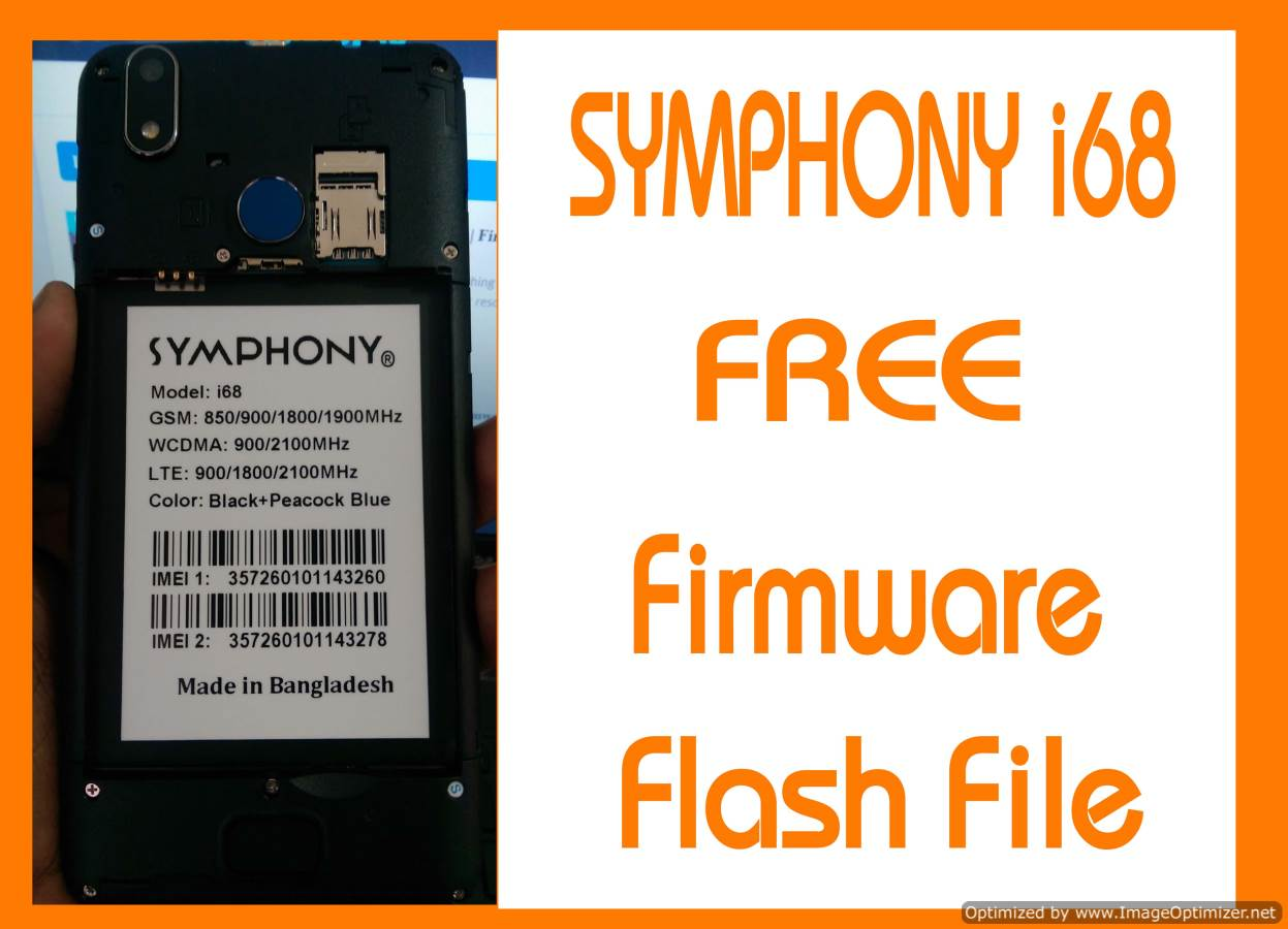 Symphony i68 Flash File Without Password Customer Care
