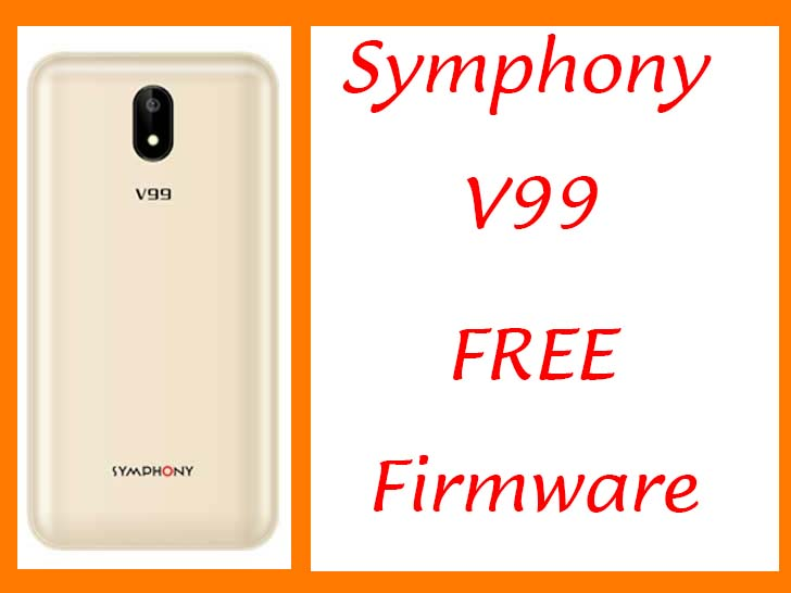 Symphony V99 Flash File Without Password Customer Care