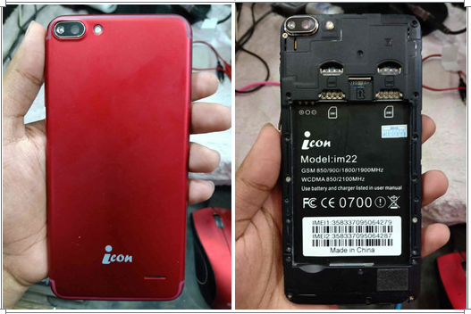 icon iM22 Flash File All Version Tested Firmware