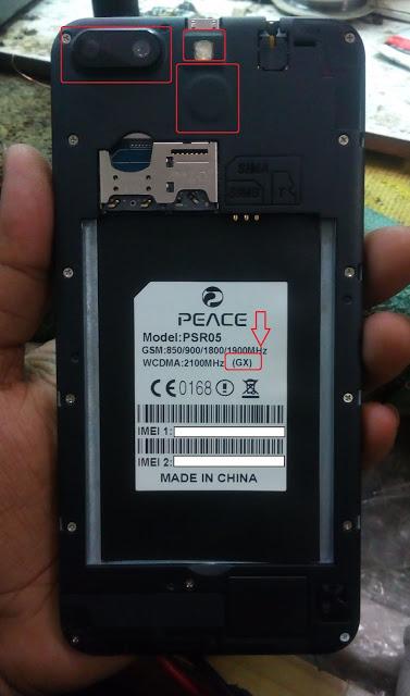 Peace PSR05 (GX) Flash File 6.0 MT6580 Firmware Download