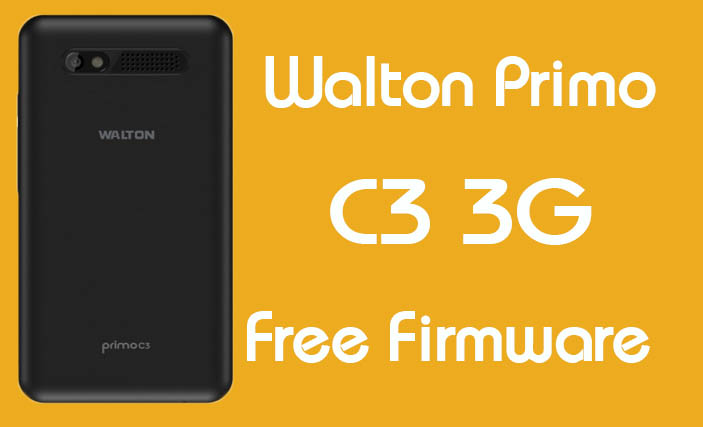 Walton Primo C3 3G Stock Firmware (Flash File) Free