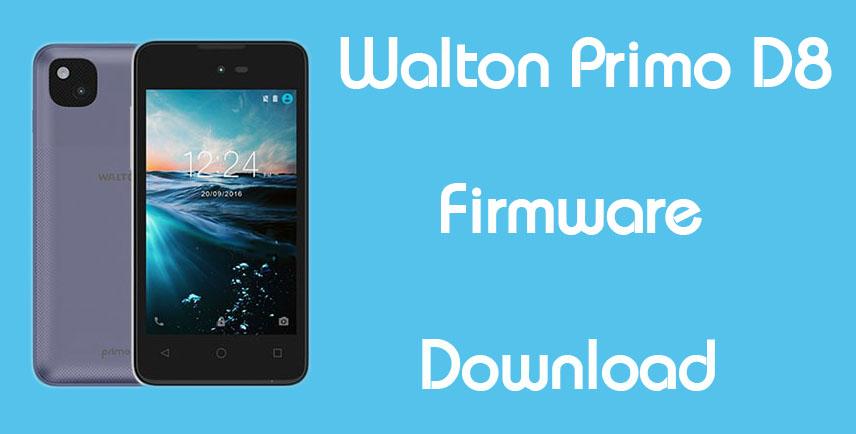 Walton Primo D8 Stock Firmware (Flash File) Download