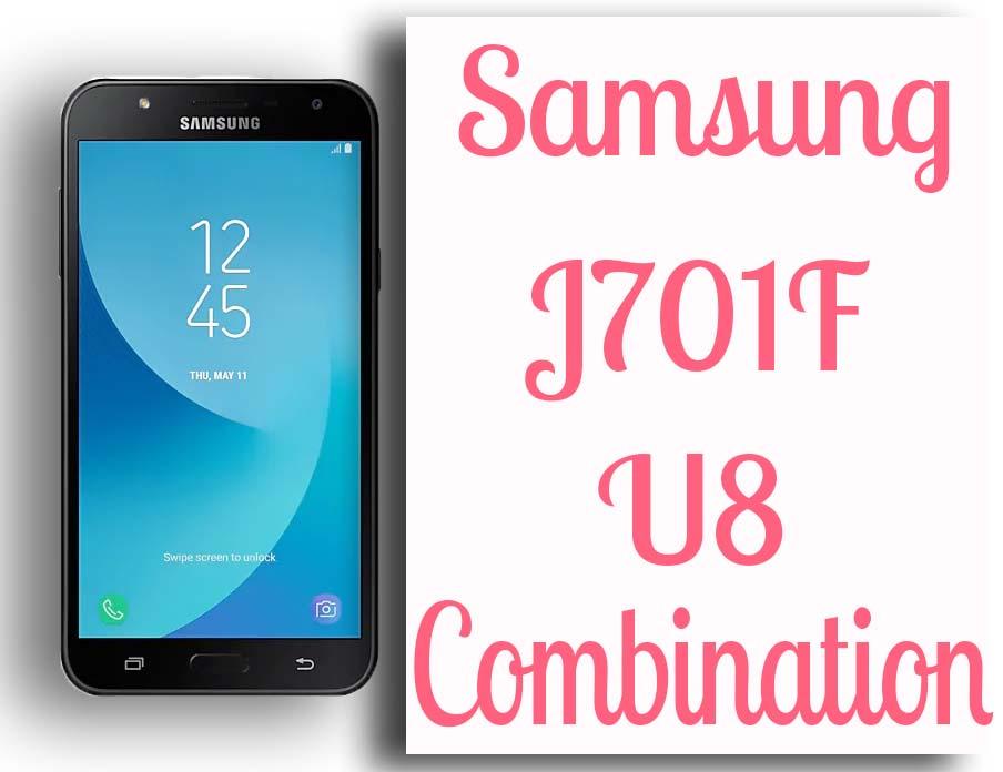 Samsung J7 Nxt J701F U8 Combination Firmware