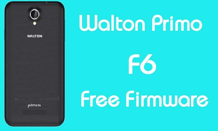 Walton Primo F6 Stock Firmware (Flash File) Free Download