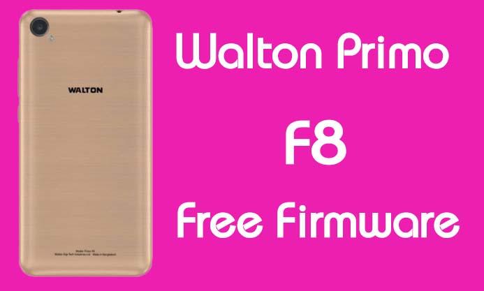 Walton Primo F8 Stock Firmware (Flash File) Free Download
