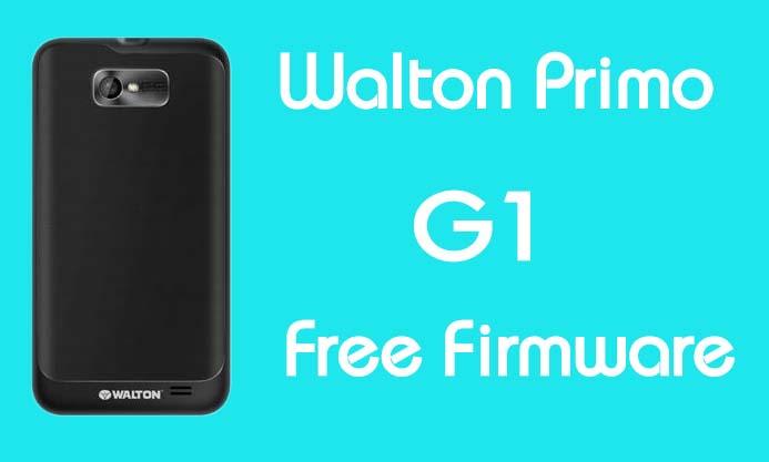 Walton Primo G1 Stock Firmware (Flash File) Free Download