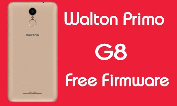 Walton Primo G8 Stock Firmware (Flash File) Free Download