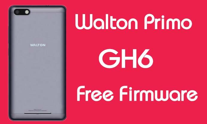 Walton Primo GH6 Stock Firmware (Flash File) Free Download