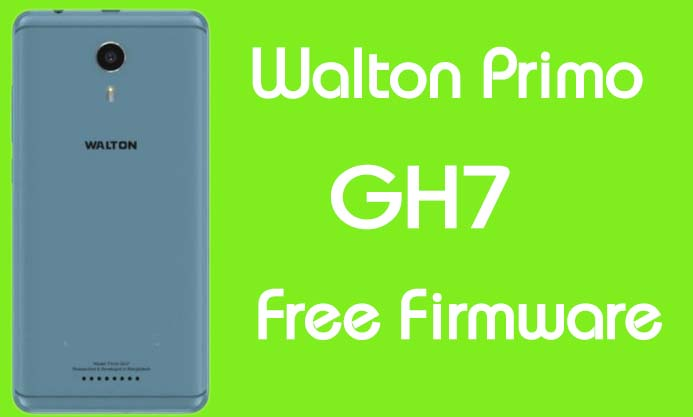 Walton Primo GH7 Stock Firmware (Flash File) Free Download