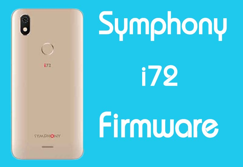 Symphony i72 Stock Firmware (Flash File) Free Download