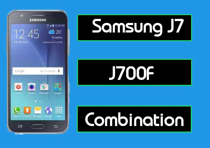 Samsung J7 J700F Combination File For Frp Free Download