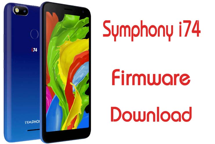Symphony i74 Flash File Firmware Customer Care