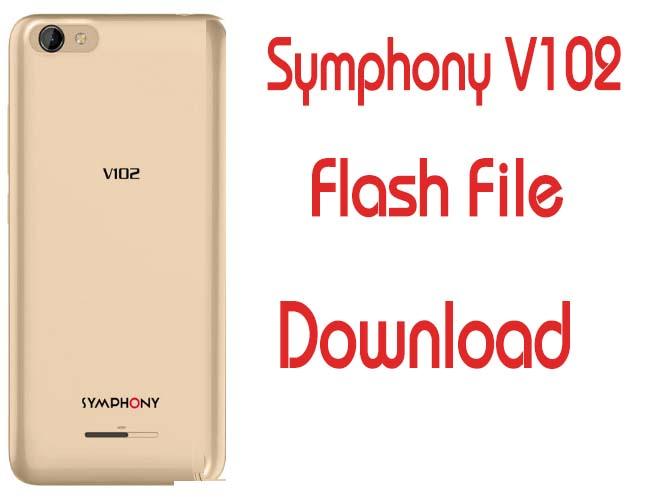Symphony V102 Flash File Firmware Orginal Customer Care