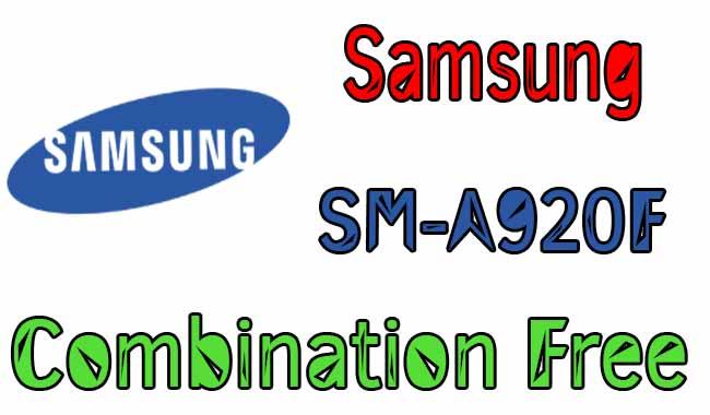 Samsung A9 A920F U3 Combination Firmware [Google Drive]
