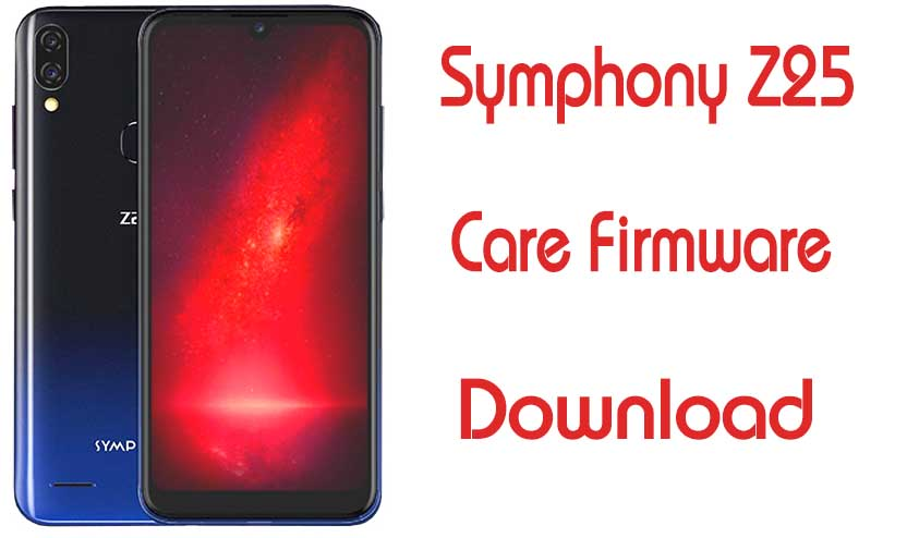 Symphony Z25 Flash File Customer Care Firmware